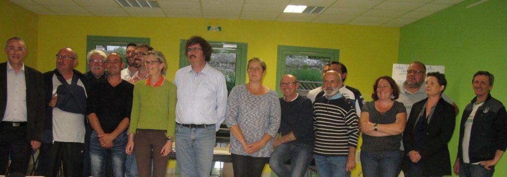 Membres de l'Amicale du Comice 2017 de Bernay-en-Champagne