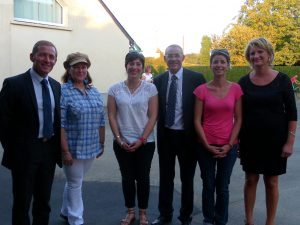 Les principaux acteurs qui œuvrent au sein de l'école de Bernay-en-Champagne