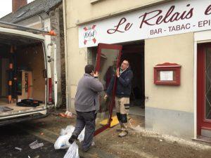 Mise en accessibilité de café-bar-restaurant de Bernay-en-Champagne