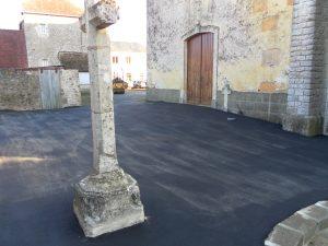 Mise en accessibilité de l'église à Bernay-en-Champagne