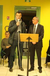 Monsieur Olivier LE GOUIC, s'est présenté à la population.